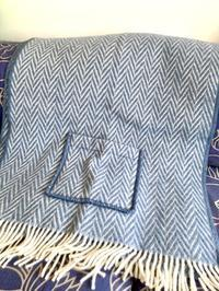 ドイツの楽天で「LAPUAN KANKURIT(ラプアン・カンクリ)」のポケット付きショールを買う☆ - ドイツより、素敵なものに囲まれて②