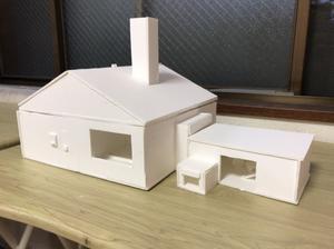 小学6年生の建築模型 - 東西線浦安駅徒歩2分の絵画教室「Atelier創(アトリエ・ソウ)」のブログ