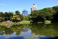小石川後楽園の彼岸花 - お散歩写真     O-edo line