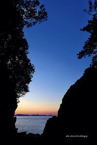 平戸の夕陽 - A  B  C