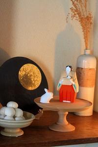 中秋の名月とうさぎの小物 - 暮らしを紡ぐ2