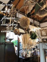 今日から10月ですね〜♪ -  Flower and cafe 花空間 ivory (アイボリー)