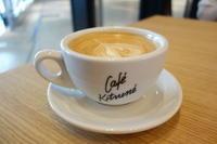 Cafe Kitsuneさんでラテ@ミヤシタパーク - *のんびりLife*