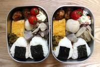 芋煮弁当と新しいもの&古いもの - オヤコベントウ