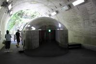 清津峡トンネル内のトイレ - 旅めぐり&花めぐり