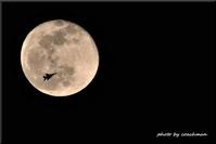 満月にF15を飛ばしてみた - 北海道photo一撮り旅