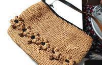 色々なバッグ♪お客様作品2020.9月 - 空色テーブル  編み物レッスン