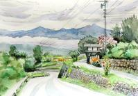 坂と雲 - ryuuの手習い