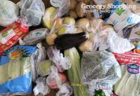 週1あらため3週間に1回の食材まとめ買いと献立(2-18) - Kyoko's Backyard ~アメリカで田舎暮らし~