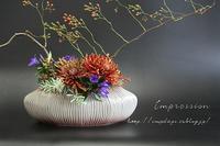 定期装花から:野バラ - Impression Days