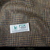 フォックスツイードのジャケット   オーダージャケット - オーダースーツ東京   ツサカテーラー 公式ブログ