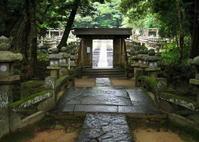 萩 東光寺の石畳の道 - ぎゃらりー竹斎堂