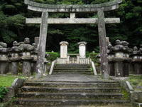 萩 東光寺の鳥居 - ぎゃらりー竹斎堂