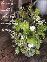本日もOPENです〜♬ -  Flower and cafe 花空間 ivory (アイボリー)