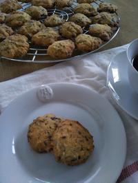 チョコチップクッキーとひき肉カレー - 福岡おでかけと食日記