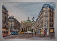 パリの風景 - オヤジの水彩画集