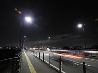 月夜に橋を渡る - monn-sann