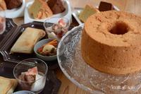 グルテンフリースイーツ、米粉のシフォンケーキ - 酵母の庭