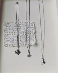 シンプルなネックレス - mainichityokotto tezukuri  毎日ちょこっと手作り yukari
