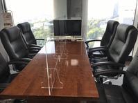接客室に透明アクリルパーティションを設置しました。 - 資産税の税理士ノート