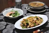 鶏と筍の中華風炒め - 60代からの女道