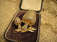 秋薫るきのこのブローチ - AntiqueJewellery GoodWill