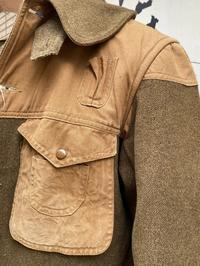 10月7日(水)マグネッツ大阪店ヴィンテージ入荷日!! #5 1900's~WorkHunting編!! Wool×CanvasHunting,ChinStrapHalfZip&ShawlCollar - magnets vintage clothing コダワリがある大人の為に。