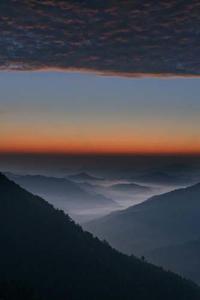 雲海~構図に苦慮 - katsuのヘタッピ風景