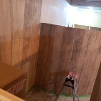改装工事16日目残りの塗装とカウンター搬入 - アネンドのいろとりどりの日々