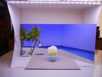 サンリオ の LED付き簡易スタジオ その2 - ダリア日記帳