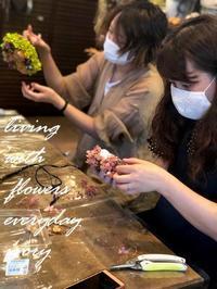 〜早速のお申し込み〜♬ -  Flower and cafe 花空間 ivory (アイボリー)