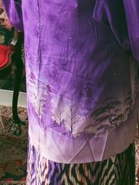 紫色の森の中で - うららフェルトライフ