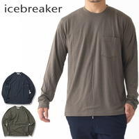 ICE BREAKER [アイスブレーカー] M TECH LITE LS POCKET CREWE [IT62005] テックライトロングスリーブポケットクルー MEN'S - refalt blog