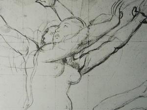 美術全集夜話・第360夜,現在の鉛筆に近いものが出来たのもアングルの時代だった。 -