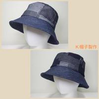 岡山デニムのバッケット - K帽子製作
