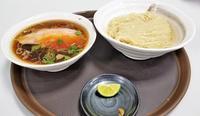 らぁ麺紫陽花醤油つけ麺(京阪百貨店守口店秋の全国うまいもの大会) - 拉麺BLUES