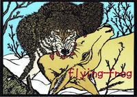 オオカミとっても大好き展新作3 - 晴れときどき・・・動物園?