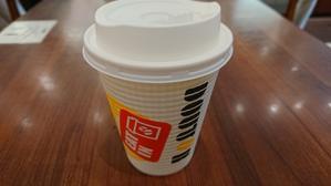 出勤前のドトールコーヒー - **mimayonの食卓 **