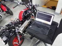 モンキーのi-map - バイクの横輪
