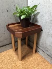 建築三昧「杉材をつかった木工」成果品第八号サイドテーブル - 設計事務所 arkilab