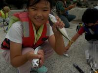 はじめての海つり!9月26日編 - 子どものための自然体験学校「アドベンチャーキッズスクール」