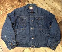 10月10日(土)入荷!60's Wrangler20MJLDenim Jacket! - ショウザンビル mecca BLOG!!