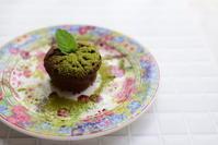 抹茶とチョコレートのカップケーキ - In bocca al lupo 2