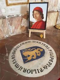 私のフィレンツェの教会・オンニサンティ教会 - Via Bella Italia ベッライタリア通りから