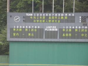 <参考情報>長岡西野球部悠久山登場!してますぅー(^^) -