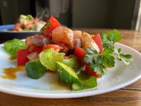 鹿屋かんぱちローズの生姜醤油パンチサラダ〜生姜の刺激が美味しい - わっぜ美味しい鹿児島としかぷーレシピ