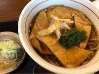 台風の日に、大和屋できつね蕎麦&かきたま蕎麦。 - パルシステムのある生活♪
