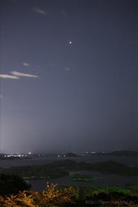 火星  地球最接近の夜 - 遥かなる月光の旅