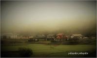 霧の朝 - 今が一番