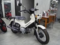 クロスカブ・ローダウン仕様 - バイクの横輪